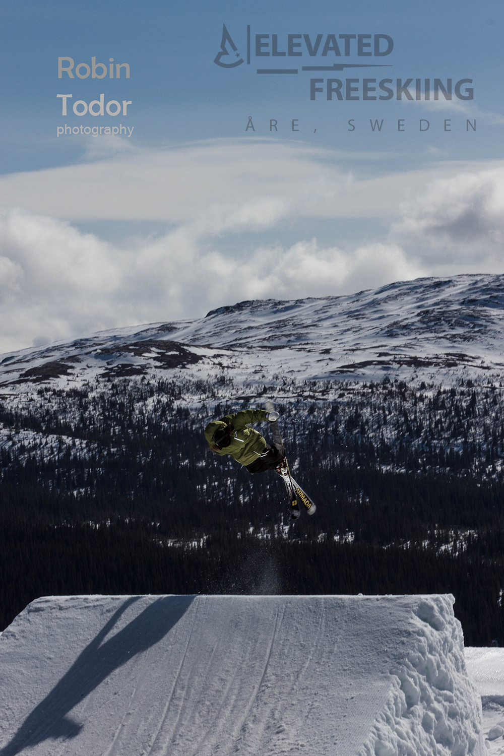Niklas Hoiem, Elevated Clothing Swedish Freeskier, freeskiing clothing