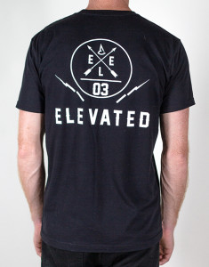 elevated clothing men's wakeboard brand, surf clothing, snowboarding and freeskiing shirt, streetwear